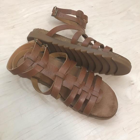 37d01c1cd06 Korks by Kork Ease Linora Gladiator Sandals 10 M
